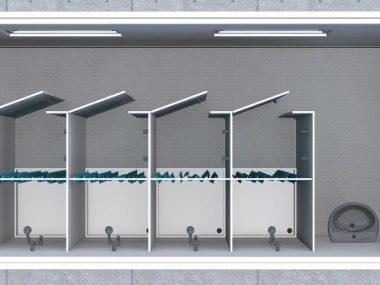 Showers module