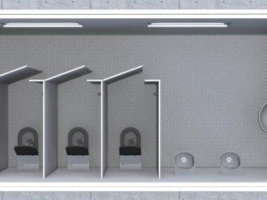 Toilets module