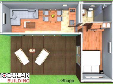 Project 1- renderings: Layout  LSHAPE