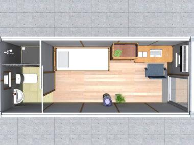 Project 1- renderings: MB cabin like