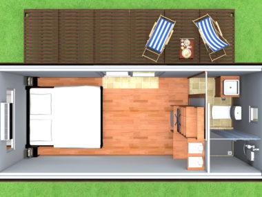 Project 1- renderings: Cabin