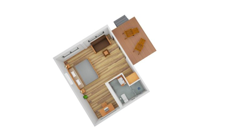 Project 1- renderings: Double Cabin   Lay