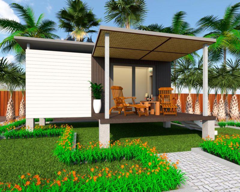 Project 1- renderings: Single cabin   Pers